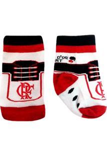 Meias Para Meninos Flamengo Vermelha infantil  c0d6561c5d633