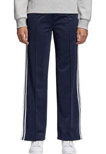 Calça Sailor Listrada - Azul Marinho & Brancaadidas