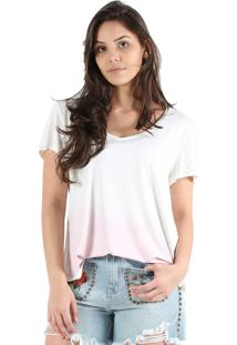 T-Shirt It'S & Co Degrade Nude