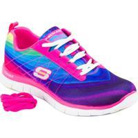 cb4a4ae030efc Tênis Running Pretty Please Hot - Skechers - Feminino-Pink+Roxo