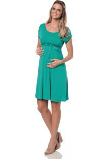 Vestido Curto Tem Gente Viscolycra Verde