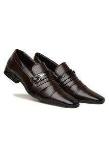 Sapato Social Masculino Confortável Preto Estilo Premium