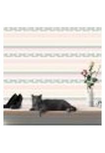 Papel De Parede Autocolante Rolo 0,58 X 3M - Flores Bolinhas Listrado Renda 251744206