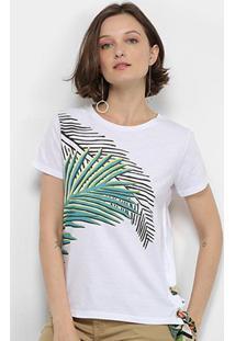 Camiseta Lez Lez Estampada Lenço Feminina - Feminino