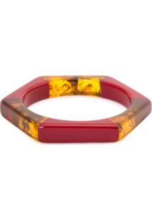 Bracelete Losango Resina