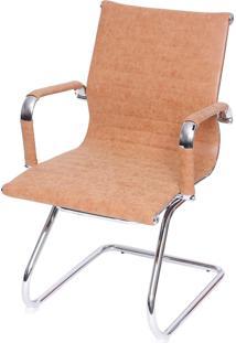 Cadeira Retrô Eames Fixa Caramelo Or Design