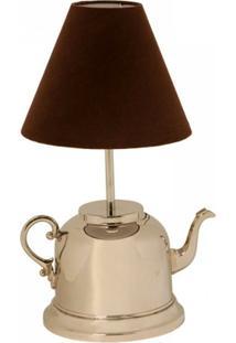 Abajur De Metal Round Teapot Bivolt - Unissex