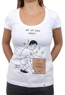 Amor Próprio - Camiseta Clássica Feminina