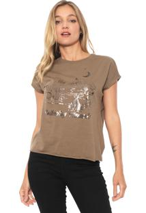 Camiseta Dzarm Collecting Moments Verde