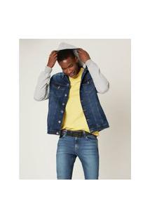 Jaqueta Jeans Com Moletom Malwee