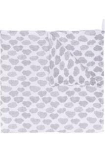 Moumout Cobertor Estampado - Branco