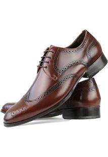 Sapato Social Florense Oxford Classico Couro Masculino - Masculino