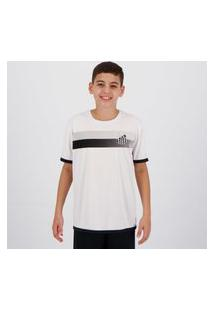 Camisa Santos Limb Infantil Branca