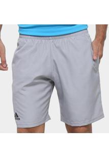 Short Adidas Club 9 Masculino - Masculino-Cinza