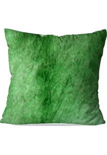 Capa De Almofada Avulsa Decorativa Verde - Unissex