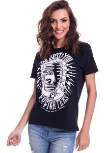 Camiseta Jazz Brasil The Best Of You Preta - Preto - Feminino - Algodã£O - Dafiti