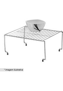 Organizador Componível- Prateado- 15X32X27Cm- Fufuture