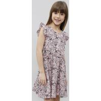 f322e0899 CEA. Vestido Infantil Estampado Floral ...