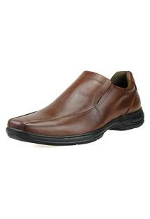 Sapato Social Dhl Calçados Conforto Neway Caramelo