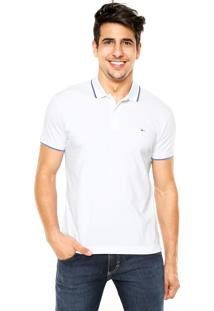 73f57e44d9 Camisa Polo Aramis Regular Fit Branca