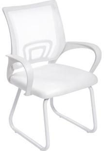 Cadeira De Escritório Tok- Branca- 87X59X50Cm- Oor Design