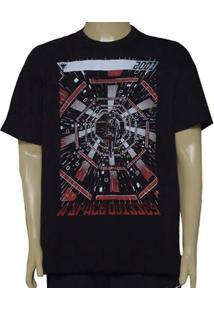 61f6c0ea3 Camiseta Masc Cavalera Clothing 01.01.9574 Preto
