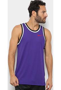 Regata Nike Dry Classic Jersey Masculina - Masculino-Roxo+Vermelho