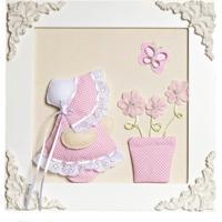 2bd44869a Dafiti. Quadro Decorativo Camponesa Vaso Quarto Bebê Infantil Menina Potinho  De Mel Rosa