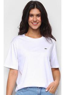 Camiseta Lacoste Boy Fit Feminina - Feminino