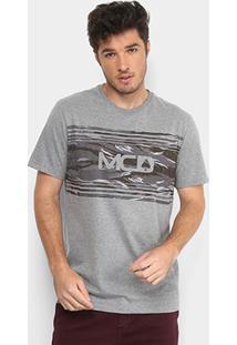 Camiseta Mcd Camouflage Masculina - Masculino-Mescla e98ccf0ad75