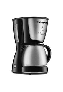 Cafeteira Elétrica Mondial Dolce Arome, 30 Xícaras, 800W, 110V, Preto/Inox - C-37Ji-30X