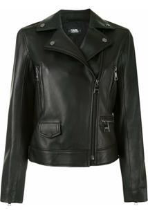 Karl Lagerfeld Karl Legend Biker Jacket - Preto