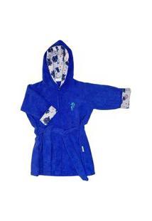 Roupão Infantil Eco&Play Azul