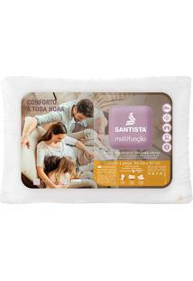 Travesseiro Multifunção - Santista - Branco
