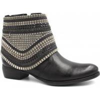 Betisa. Bota Cano Curto Zariff Shoes Ankle Boot Zíper 35ef30e57c
