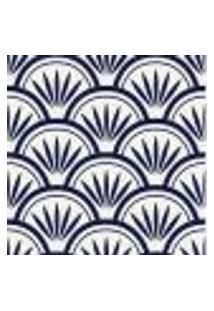 Papel De Parede Adesivo Abstrato Azul 0190 Rolo 0,58X3M