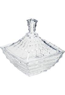 Bomboniere De Cristal Mauricius 18X19,5Cm - Unissex