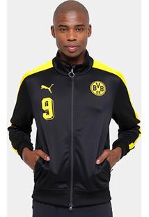 Jaqueta Borussia Dortmund Puma T7 Masculina - Masculino