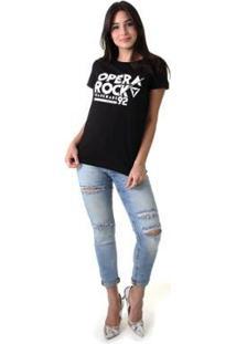 Camiseta Opera Rock 92 Feminina - Feminino