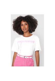 Camiseta Lança Perfume Logo Branca