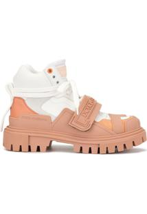 Dolce & Gabbana Ankle Boot Trekking - Branco