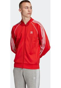 Jaqueta Adidas Sst Tt Originals Vermelho