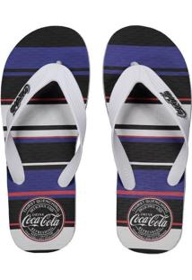 f66bb26b2 Fut Fanatics. Chinelo Coca Cola Quenching Branco
