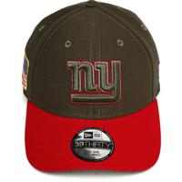 Boné New Era Fitted 3930 New York Giants Verde Vermelho 2fd1d1313fa10