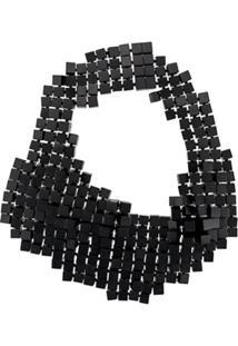 Monies Colar Multi Cube - Preto