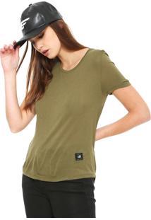 Camiseta Ellus 2Nd Floor Jersey Fine Verde