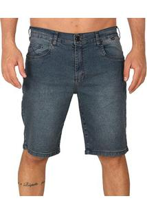 Bermuda Jeans Hurley Senior Masculina - Masculino-Jeans
