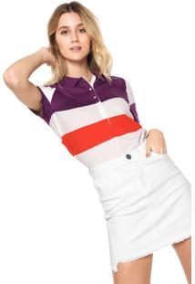 cc376ebd62cff Camisa Pólo Lacoste Ombro feminina   Shoes4you
