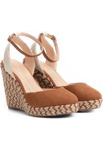 8ed98eebf8 Sandália Anabela Shoestock Espadrille Corda Feminina - Feminino