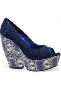 c7ec8a927 Peep Toe Cobra Sintetico feminino | Shoes4you
